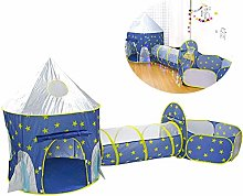 Kids Play Tent Tunnel Folding 3 in 1 Pop Up Tent