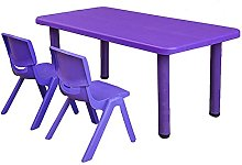 Kids Rectangular Table for Up to 6 People,Nursery