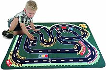 Kids Rug City Map for Cars Educational Area Rug