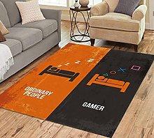 Kids Rug Ordinary People V Gamer Carpets For Home