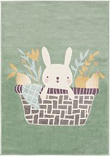 Kids rug Tommy Green 120x170 cm - Childrens Rugs