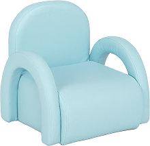 Kids Single Sofa, Mini Children Leather Armchair