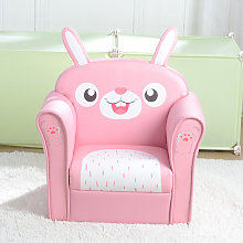 Kids Single Sofa, Mini Children Rabbit Pattern
