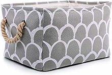 Kids Storage Bin, Folding Laundry Hamper with