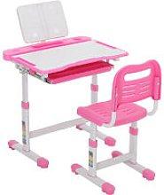 Kids Study Desk Chair Set Adjustable Children