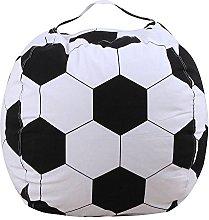 Kids Stuffed Animal Plush Football Toy Storage