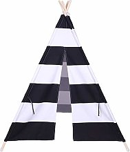 Kids Teepee Play Tent Children Large Cotton Canvas