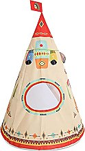 Kids Teepee Tent, Foldable Indian Tribe Design