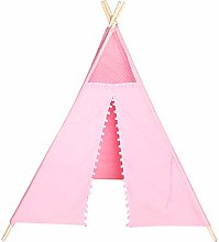 Kids Tent Easy to Assemble disassemble Lace Edge