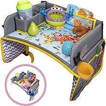 Kids Travel Tray -- a Car Seat Tray - Travel Lap