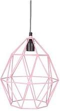 KidsDepot - Pink Wire Pendant Lamp - metal | pink