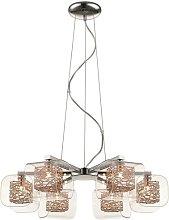 Kidsgrove 6-Light Sputnik Chandelier Brayden