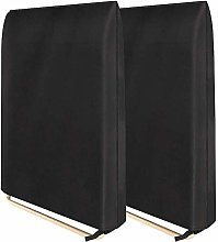 KiKiYe 2pcs Patio Zero Gravity Folding Chair Cover