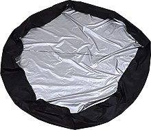 KiKiYe 76inches Round Hot Tub Cover Solar Spa