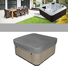 KiKiYe Hot Tub Cover Waterproof Square Pool Safety