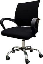 KiKiYe Office Computer Chair Seat Cover Desk Split