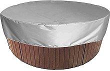 KiKiYe Outdoor Hot Tub Cover Round Swimming Pool