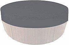 KiKiYe Outdoor Round Hot Tub Cover, Portable