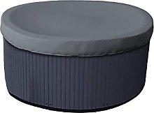 KiKiYe Round Hot Tub/spa Cover 12 Oz Waterproof -