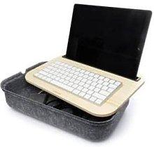 Kikkerland Design - Lap Desk with Storage Ibed Grey