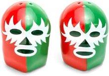 Kikkerland Design - Mexican Wrestlers Salt And