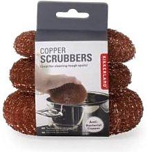 Kikkerland Design - Set of 3 Copper Scrubbers