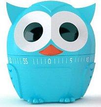 Kikkerland Kitchen Timer Owl Blue Owl 60 min Timer