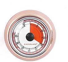 Kikkerland KT051-CO Kitchen Timer, Steel, Copper
