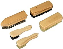 KIKKERLAND Shoe Cleaner Brush Set 5, 0