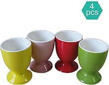 KIKO Ceramic Egg Cup,set Of Four Porcelain Egg