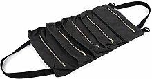 KIKYO Multifunctional Tool Bag, Tools Roll Up Bag