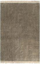 Kilim Rug Cotton 120x180 cm Taupe
