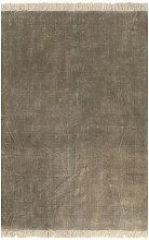 Kilim Rug Cotton 160x230 cm Taupe VD12466 - Hommoo
