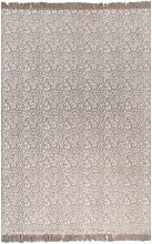 Kilim Rug Cotton 160x230 cm with Pattern Taupe
