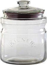 Kilner 2 Litre Push Lid Cookie Jar Glass