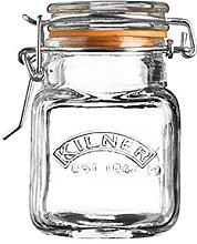 Kilner Clip Top Square Spice Jar 70ml