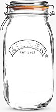 Kilner Cliptop Glass Jar, 2L