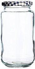 Kilner Round Twist Top 580ml Preserve, Storage,