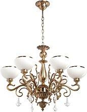 Kilraghts 6-Light Shaded Chandelier Astoria Grand