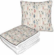 KIMDFACE Travel and Throw Blanke,Pattern With