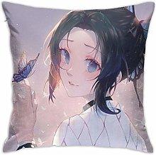 Kimetsu no Yaiba Square Pillowcase Soft Plush