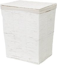 Kimo Wicker Laundry Bin Rebrilliant
