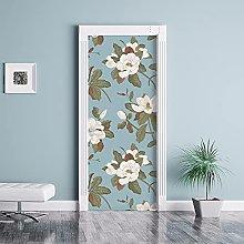 kina CDD0033 Stairs Door Decoupage Wallpaper
