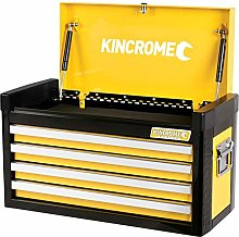 Kincrome Evolve 4 Drawer Tool Chest Yellow