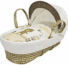 Kinder Valley Beary Nice Cream Moses Basket