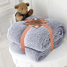 Kinfolk Textile Teddy Fleece Throw Blanket Soft