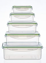 King 5 Container Food Storage Set king