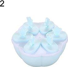 KingbeefLIU Ice Mould Plastic Ice Cream Mold Maker