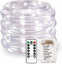 KINGCOO 100 LED Rope Lights, Waterproof 33ft/10M 8
