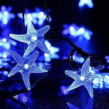 KINGCOO Christmas Solar String Lights, 20ft 30 LED